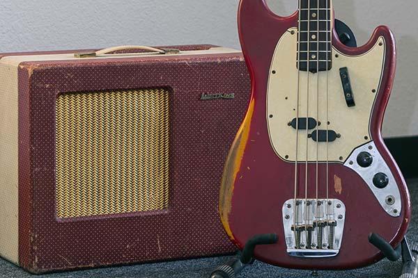 58 Watkins Amp 66 Fender Mustang Base Guitar