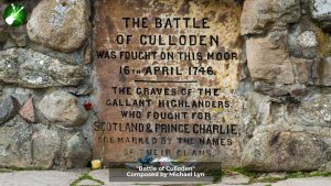 Battle of Culloden Stone Marker