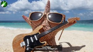 Maui Mike, a Starfish with a Guitar